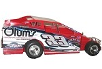 Mike Mahaney 2017 #33 Hard Plastic Toy car