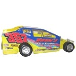Duane Howard 2017 #357 Hard Plastic Toy car