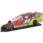 Slot Magic 3 Dirt Modified body - Tim McCreadie 2016  Car #39