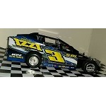Sammy Martz 2016  #3 Hard Plastic Toy car