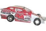 Pete Bicknell 2016 #42 Hard Plastic Toy car