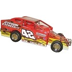 Pat Ward 2010 Syracuse Big Block #42P Hard Plastic Toy car