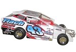 Keith Flach  #43 2009 Syracuse 358 Hard Plastic Toy car