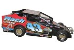 Keith Flach  #43 2009 Syracuse Big Block Hard Plastic Toy car