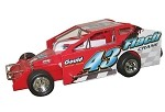 Keith Flach 2006 Syracuse Big Block #43 Hard Plastic Toy car