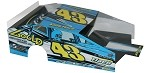 Slot Magic 3 Dirt Modified body - Keith Flach #43 2017