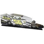 Slot Magic 3 Dirt Modified body - Vince Vitale 2016  Car #56