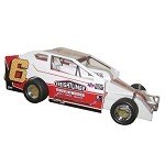 Brett Hearn  #6 1990 Syracuse winner Hard Plastic Toy car