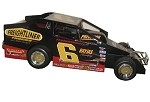 Danny Johnson 1998 Syracuse Big Block #6 Hard Plastic Toy car