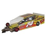 Slot Magic 3 Dirt Modified body - JR Heffner 2013 #74