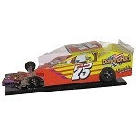 Slot Magic 3 Dirt Modified body - Lou Cicconi 2013 #75