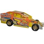 Steve Paine 2017 Oswego Big Block #7X  Hard Plastic Toy car