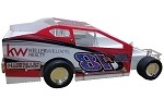Eric Martin 2018  Sportsman #81R Hard Plastic Toy car