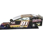 Slot Magic 3 Dirt Modified body - Willy Osmun 2016  Car  #81