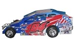 Gary Tomkins 2008 Syracuse Hard Plastic Toy car