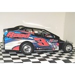 Chris Mackey 2016 Sportsman car #3 Hard Plastic Toy car