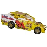 Billy Decker #91 2003 Hard Plastic Toy car