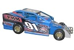 Billy Decker #91 2018  Hard Plastic Toy car