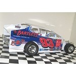 Ryan Bartlett 2016 Sportsman #93 Hard Plastic Toy car