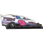 Slot Magic 3 Dirt Modified body - Billy Dunn 2016  Car  #949
