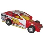 Eddie Marshall 2007 Syracuse Big Block Hard Plastic Toy car