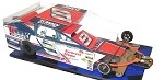 Slot Magic 3 Dirt Modified body - Bob McCreadie 1995 Car  #9