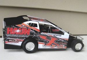 Chad Phelps  2015 #X  Hard Plastic Toy car